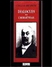 Dialogues sur l'hermétisme - Intérieur - Format classique