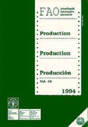 Production fao yearbook t.48 1994 - Couverture - Format classique