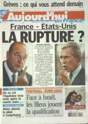 Aujourd'Hui En France N°560 du 02/04/2003 - Couverture - Format classique