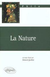 La Nature Philo - Intérieur - Format classique