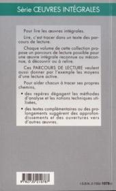 Le voyageur sans bagage, de Jean Anouilh - 4ème de couverture - Format classique