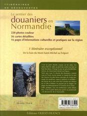 Le sentier des douaniers en Normandie - 4ème de couverture - Format classique