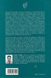 Les Consequences Humaines Des Restructurations - 4ème de couverture - Format classique