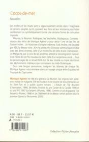 Cocos De Mer Et Autres Recits De L'Ocean Indien - 4ème de couverture - Format classique