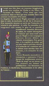 Perle De Sang - 4ème de couverture - Format classique