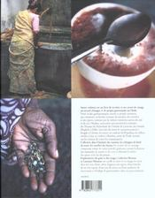 Saveurs Indiennes - 4ème de couverture - Format classique