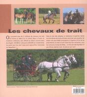 Chevaux De Trait - 4ème de couverture - Format classique