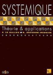 Systemique Theorie Et Applications - Couverture - Format classique