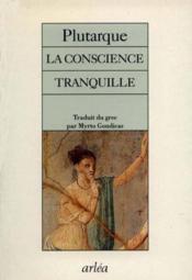 Conscience Tranquille (La) - Couverture - Format classique