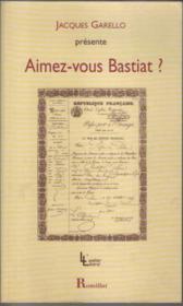 Aimez-vous Bastiat ? - Couverture - Format classique