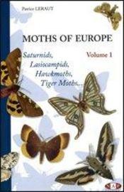 Moths of europe t.1 ; saturnids, lasiocampids, hawkmoths, tiger moths - Intérieur - Format classique