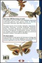 Moths of europe t.1 ; saturnids, lasiocampids, hawkmoths, tiger moths - 4ème de couverture - Format classique