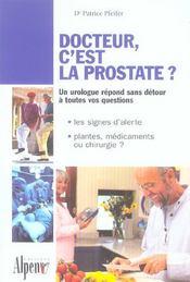 Docteur, C'Est La Prostate ? - Intérieur - Format classique