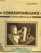 Correspondance Commerciale - Couverture - Format classique