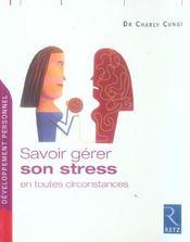 Savoir gérer son stress en toutes circonstances - Intérieur - Format classique
