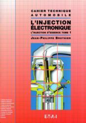 Ct L'Injection Electronique - Tome 1 - Couverture - Format classique