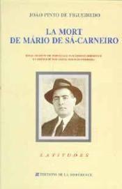 Mort De Mario De Sa-Carneiro (La) - Couverture - Format classique