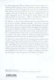 Les campagnes dans les évolutions sociales et politiques en europe 1830 à la fin des années1920 - 4ème de couverture - Format classique