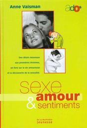 Sexe Amour Et Sentiments - Intérieur - Format classique
