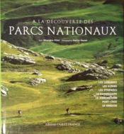 À la découverte des parcs nationaux - Couverture - Format classique