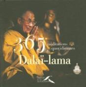 365 méditations quotidiennes du Dalaï-lama - Couverture - Format classique
