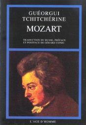 Mozart - Intérieur - Format classique