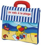 Je vais à la plage - Couverture - Format classique
