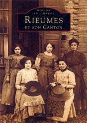 Rieumes et son canton - Couverture - Format classique
