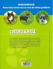Le Chihuahua - 4ème de couverture - Format classique