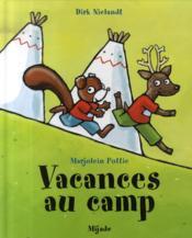 Vacances au camp - Couverture - Format classique