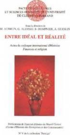 Entre Ideal Et Realite - Couverture - Format classique