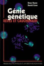 Genie Genetique:Reves - Couverture - Format classique