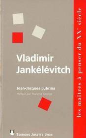 Vladimir jankelevitch - Intérieur - Format classique