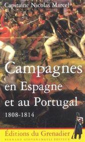 Campagnes En Espagne Et Au Portugal 1808-1814 - Intérieur - Format classique