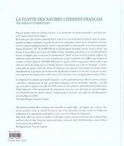 La flotte des navires citernes francais - 4ème de couverture - Format classique