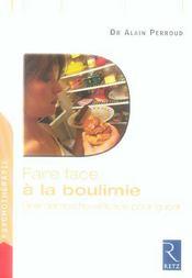 FAIRE FACE ; à la boulimie - Intérieur - Format classique