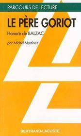 Le père Goriot, d'Honoré de Balzac - Intérieur - Format classique