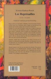 Les Represailles Les Fey-Livre Quatre - 4ème de couverture - Format classique