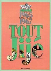 Tout Jije t.12 ; 1965-1967 - Couverture - Format classique