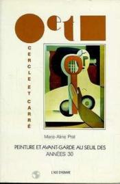 Peinture Avant Garde Seuil Ans 30 - Couverture - Format classique