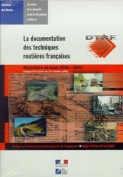 La Documentation Des Techniques Routieres Francaises : Repertoire De Base 2001-2002 : Corpus Mis A J - Couverture - Format classique