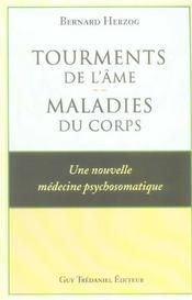 Tourments De L'Ame : Maladies Du Corps - Intérieur - Format classique