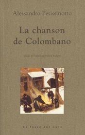 Chanson De Colombano (La) - Intérieur - Format classique