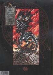 Requiem t.5 ; dragon blitz - 4ème de couverture - Format classique