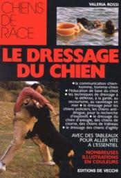 Le Dressage Du Chien - Couverture - Format classique