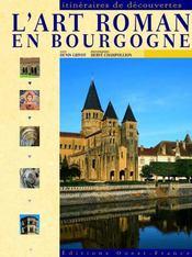 L'art roman en Bourgogne - Intérieur - Format classique