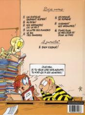 L'élève Ducobu t.4 ; la lutte des classes - 4ème de couverture - Format classique