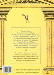 Raconte-Moi... T.4 ; L'Eglise Catholique - 4ème de couverture - Format classique