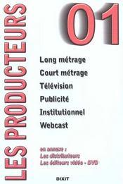 Producteurs (edition 2001) - Intérieur - Format classique