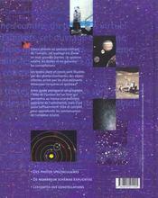 Atlas De L'Univers - 4ème de couverture - Format classique